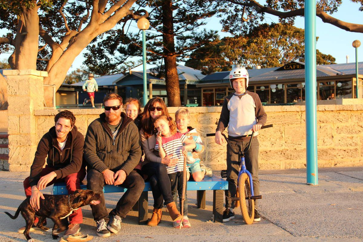 Luke's and Lucy's family (Busselton)