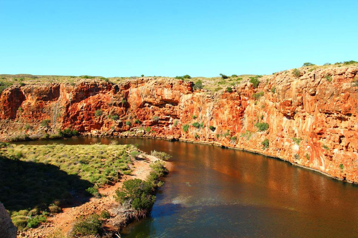 Yardie Creek walk