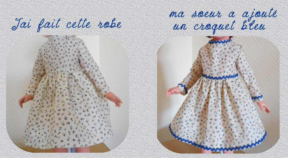 robe pour mignonnette  Petit Colin