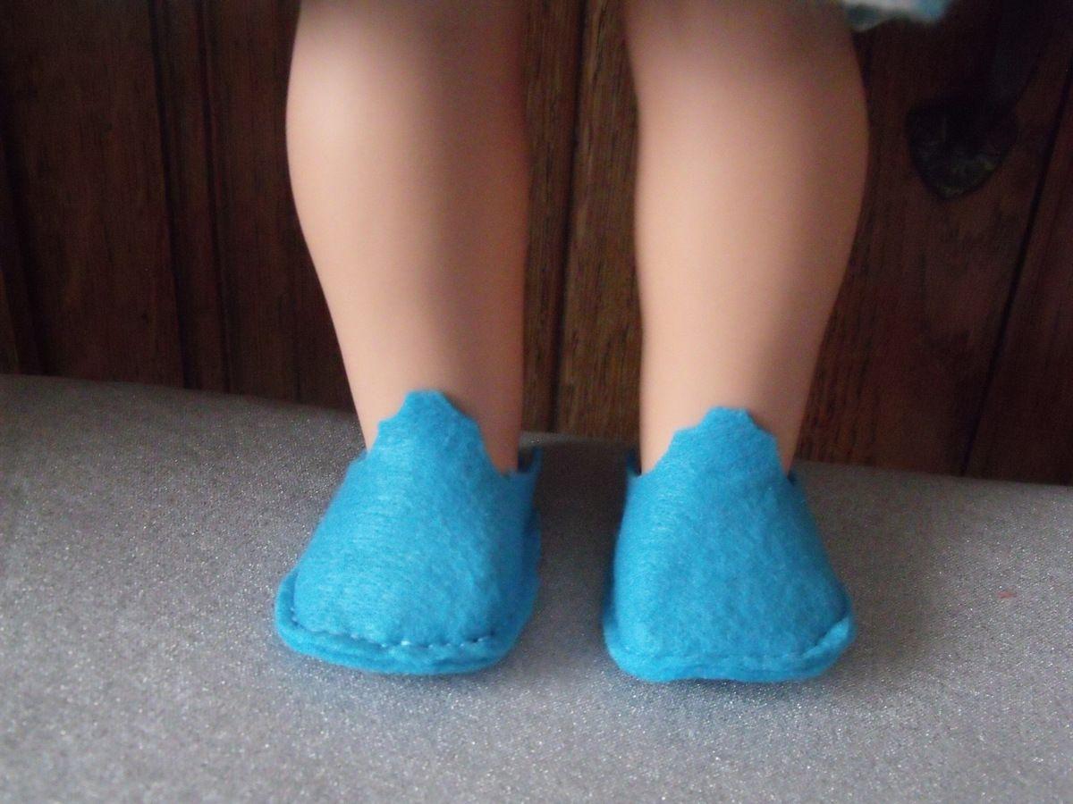 chaussons de feutre_poupée_Götz