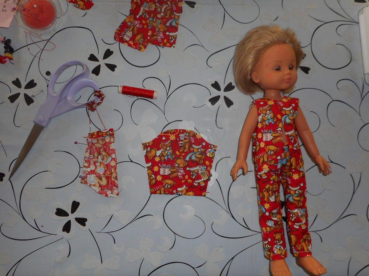 tuto pyjama Petite Chérie- Simba- Paola Reina