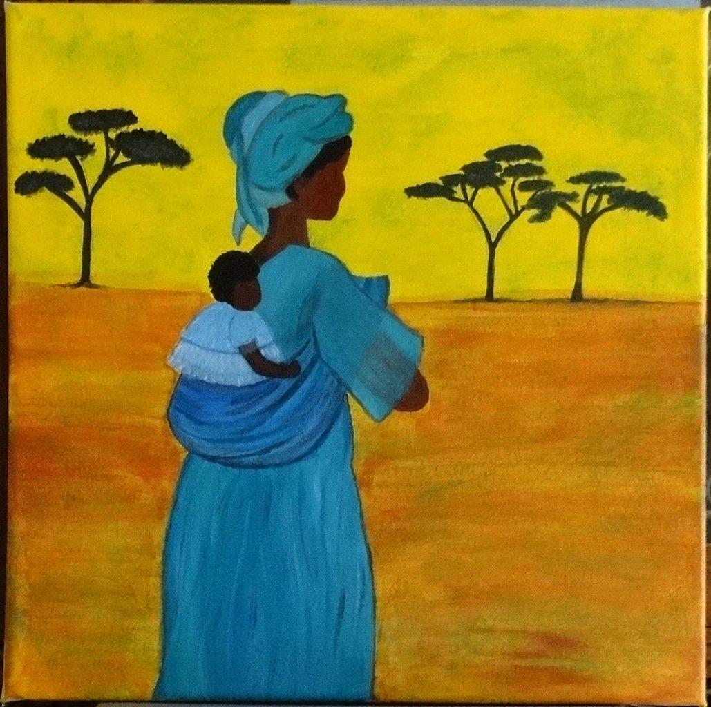 Mama africa suite et fin le blog de jo for Peinture acrylique maison