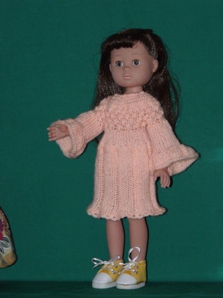 robe tricot pour Madeleine de Simba
