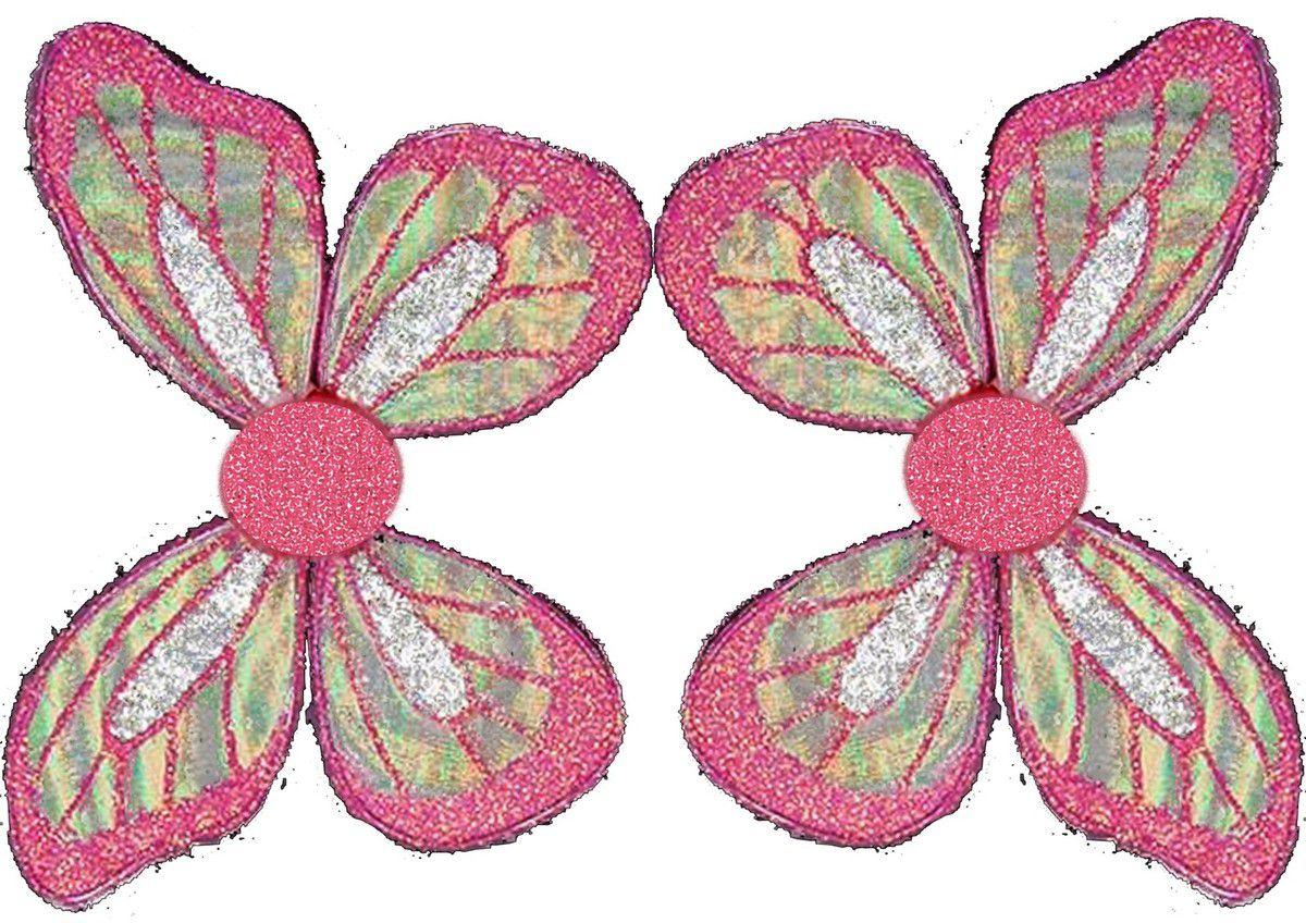ailes de fées imprimées découpées scratchées
