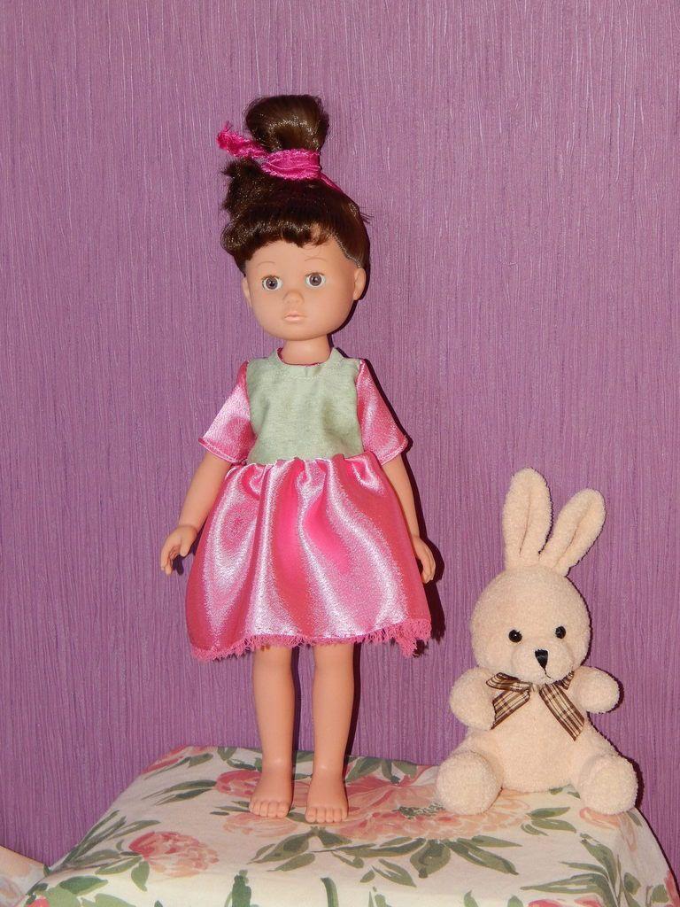 Madeleine robe printanière basique