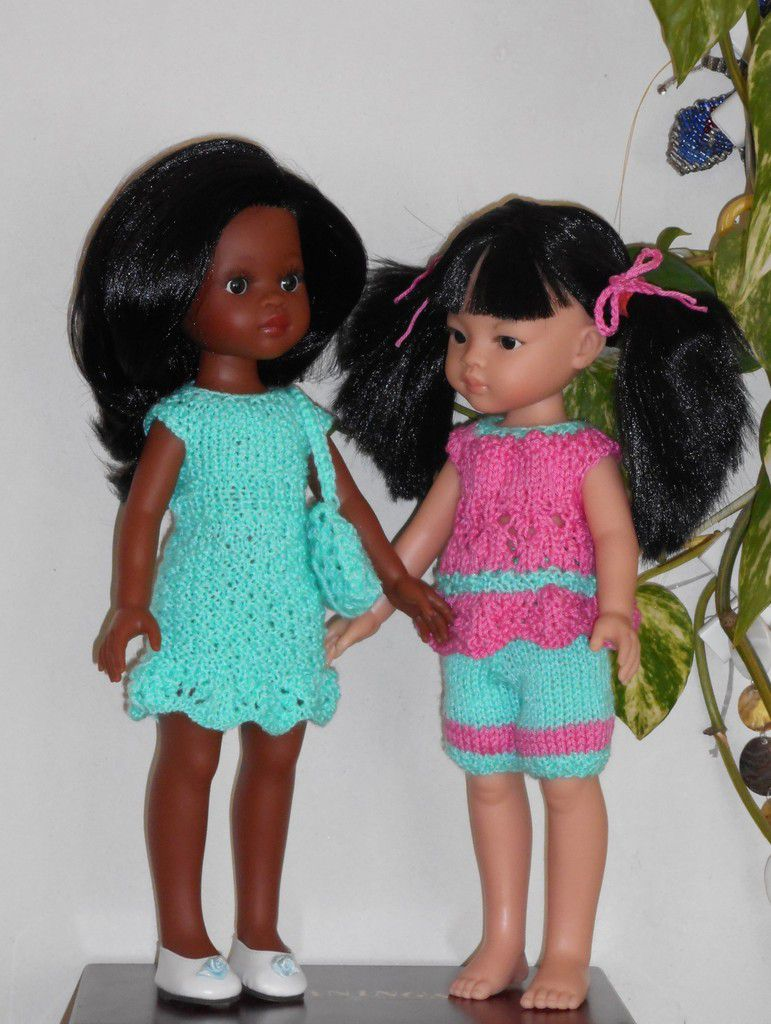 Nora et Meï-Linh , sans chapeau, avec chapeau