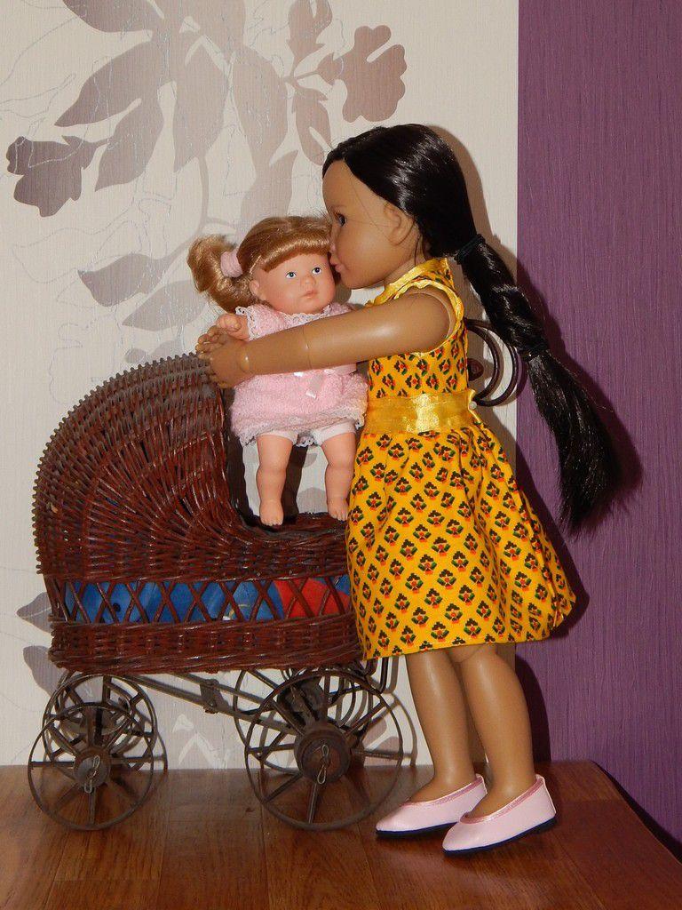 Marydo promène Coralie