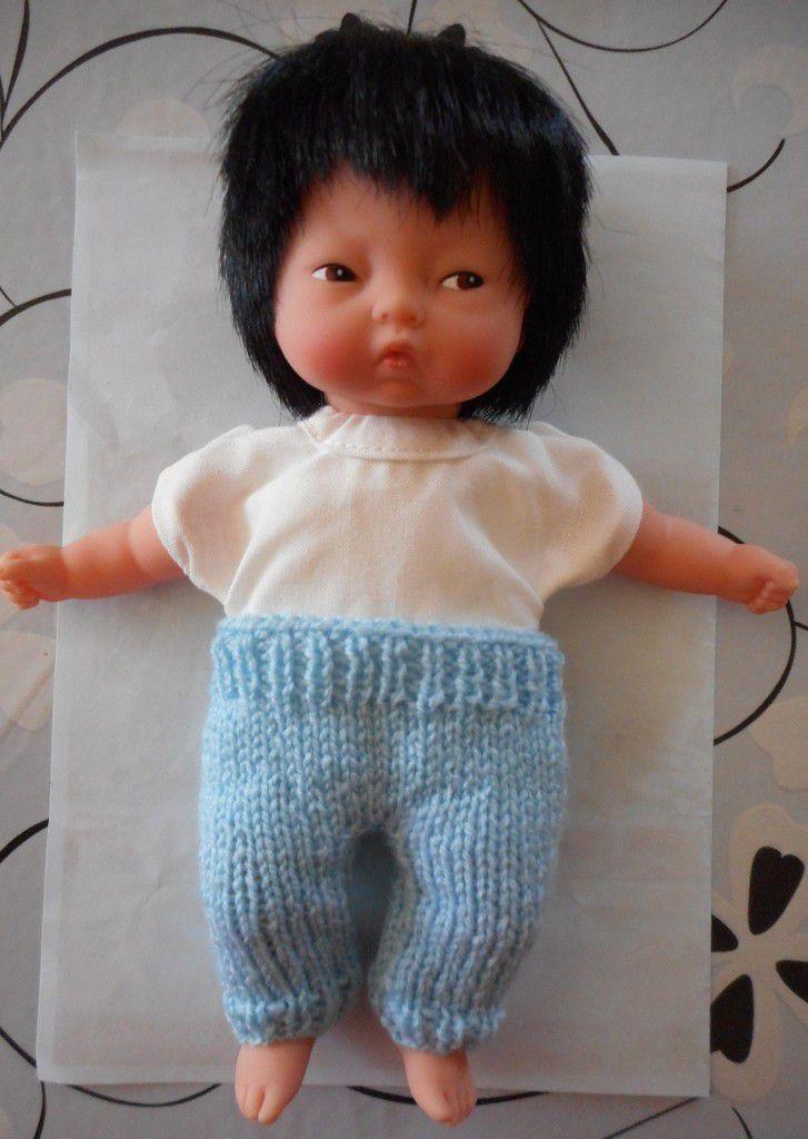 et voilà le pantalon sur mon petit Wang