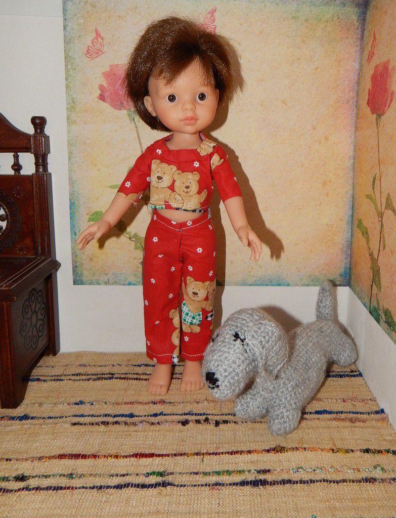 pyjama pour Carlos- Paola