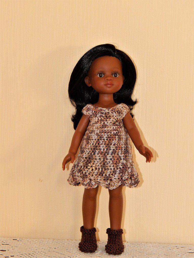 robe crochet Paola Reina