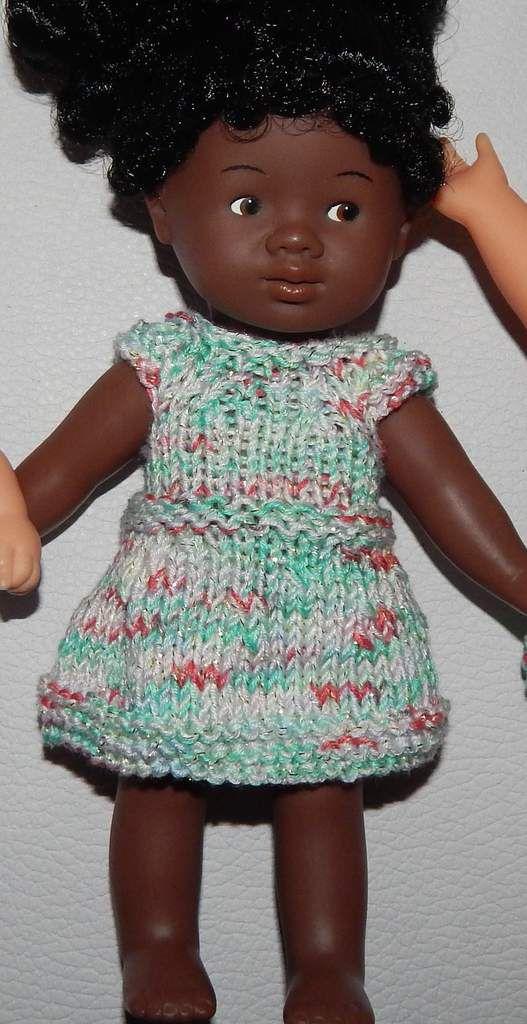 robe tricot corolline