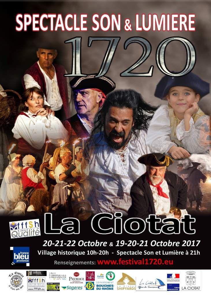 1720 Spectacle Son et Lumière 1720-2017 - Le Teaser
