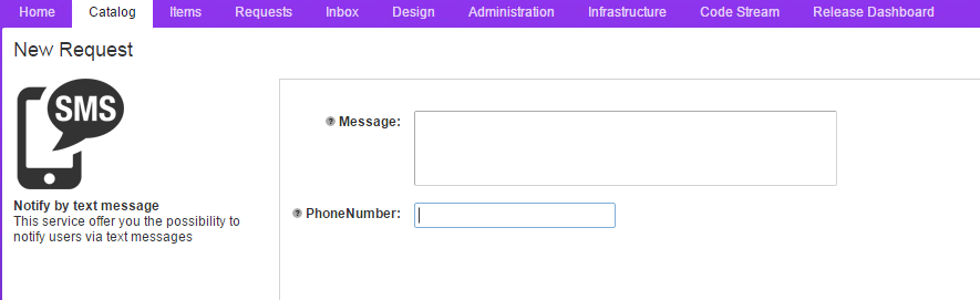 How to create and Advanced service (XaaS) to send SMS with vRealize