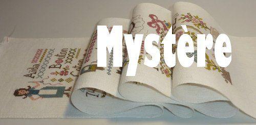 SAL Grille Mystère &quot&#x3B;ABC de la Brodeuse&quot&#x3B; Partie 2