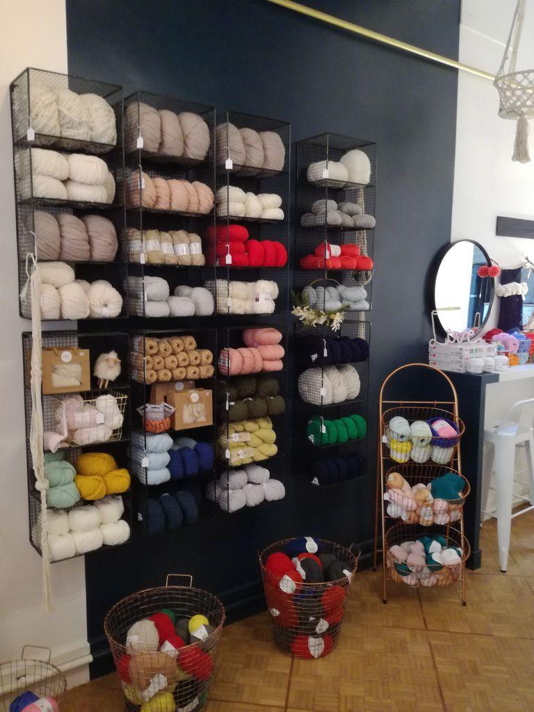Les jolis tissages de la boutique