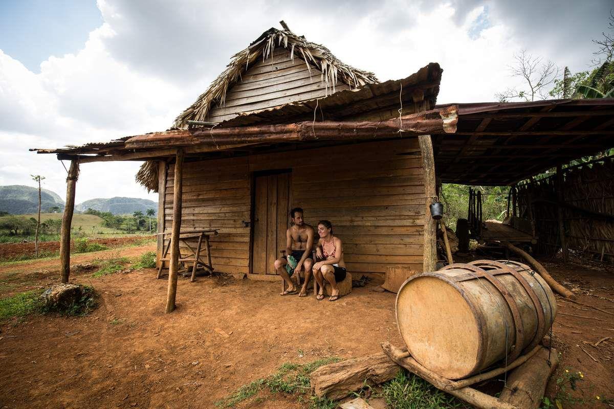 Vinales,Cayo Jutias, Pinar des Rio (plantation de tabac)