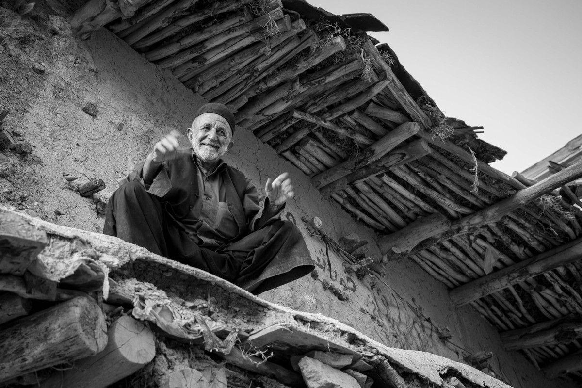 Le vieux village de Sar Agha Sayed...pas de touriste ;-)