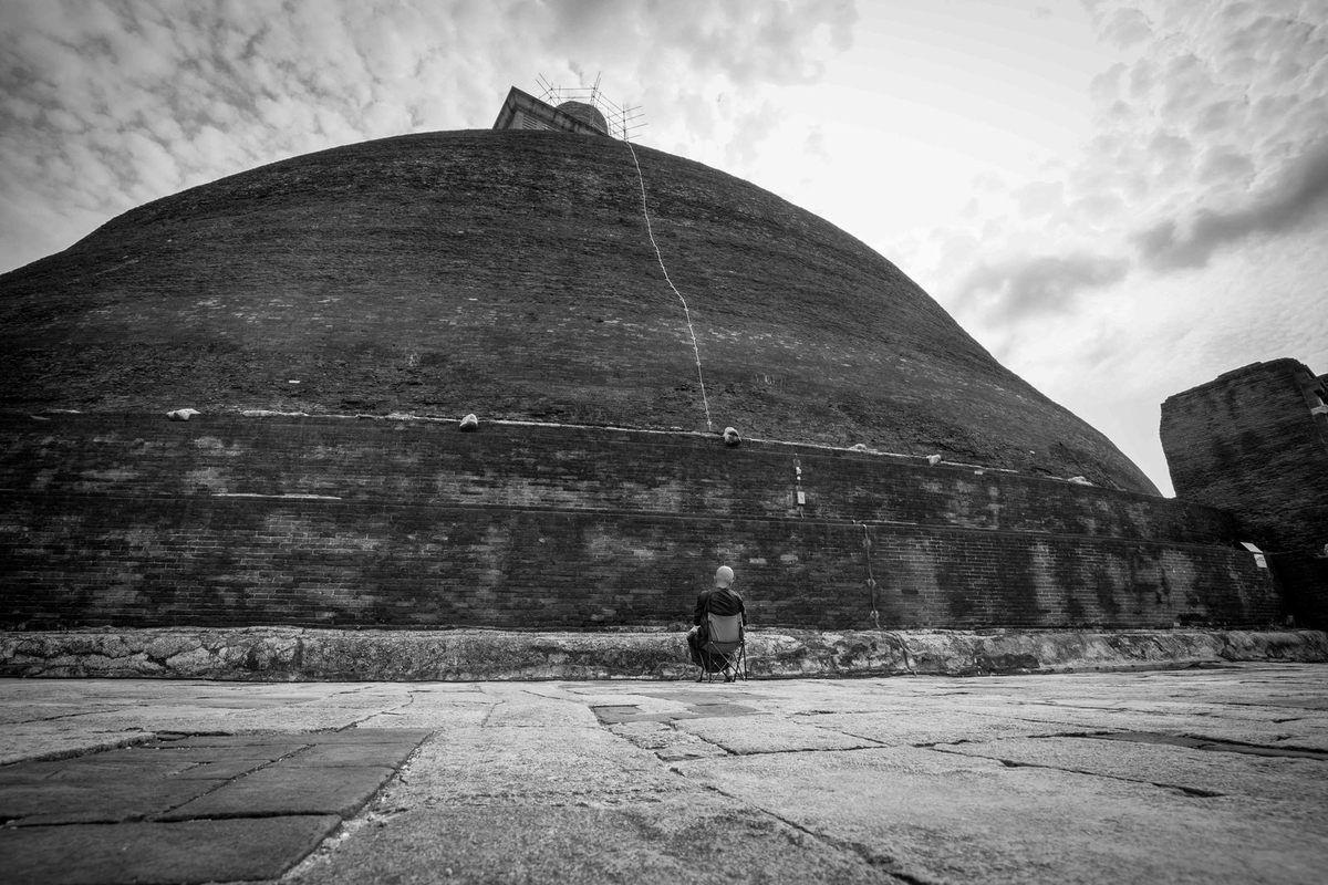 Anuradhapura au lieu du Bouddhisme...