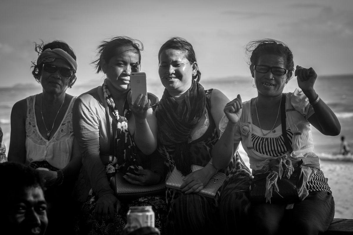 Kep au sud du Cambodge...Marché aux crabes, Ile du Lapin, Casino colonial de Bokor..