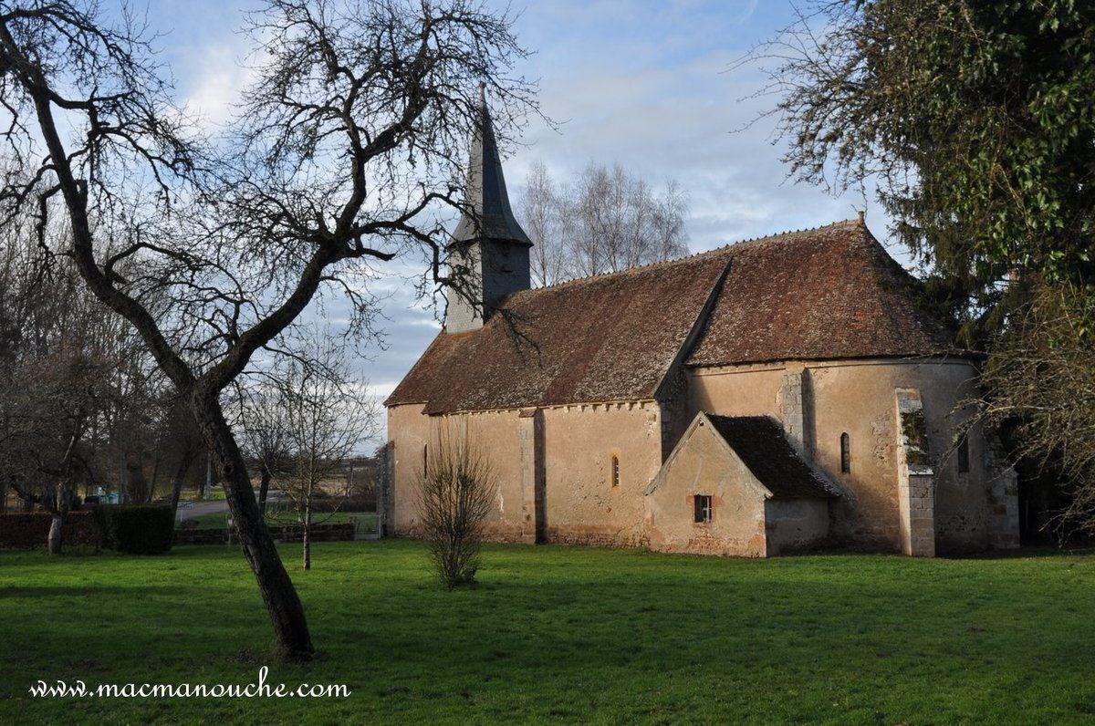 L'église d'Isle-et-Bardais.