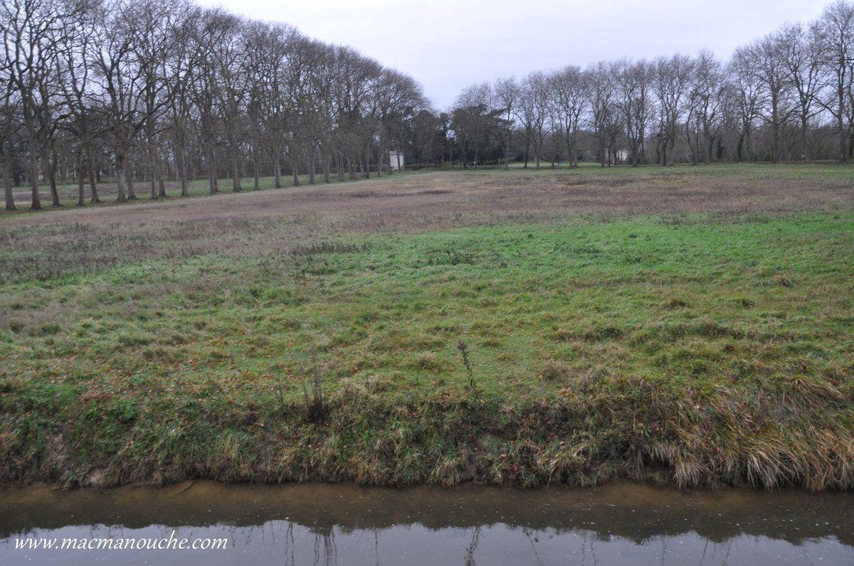 Trop souvent ensablé et devenu inutile, le bassin a été très vite abandonné, et presque entièrement comblé et une pelouse le remplace.