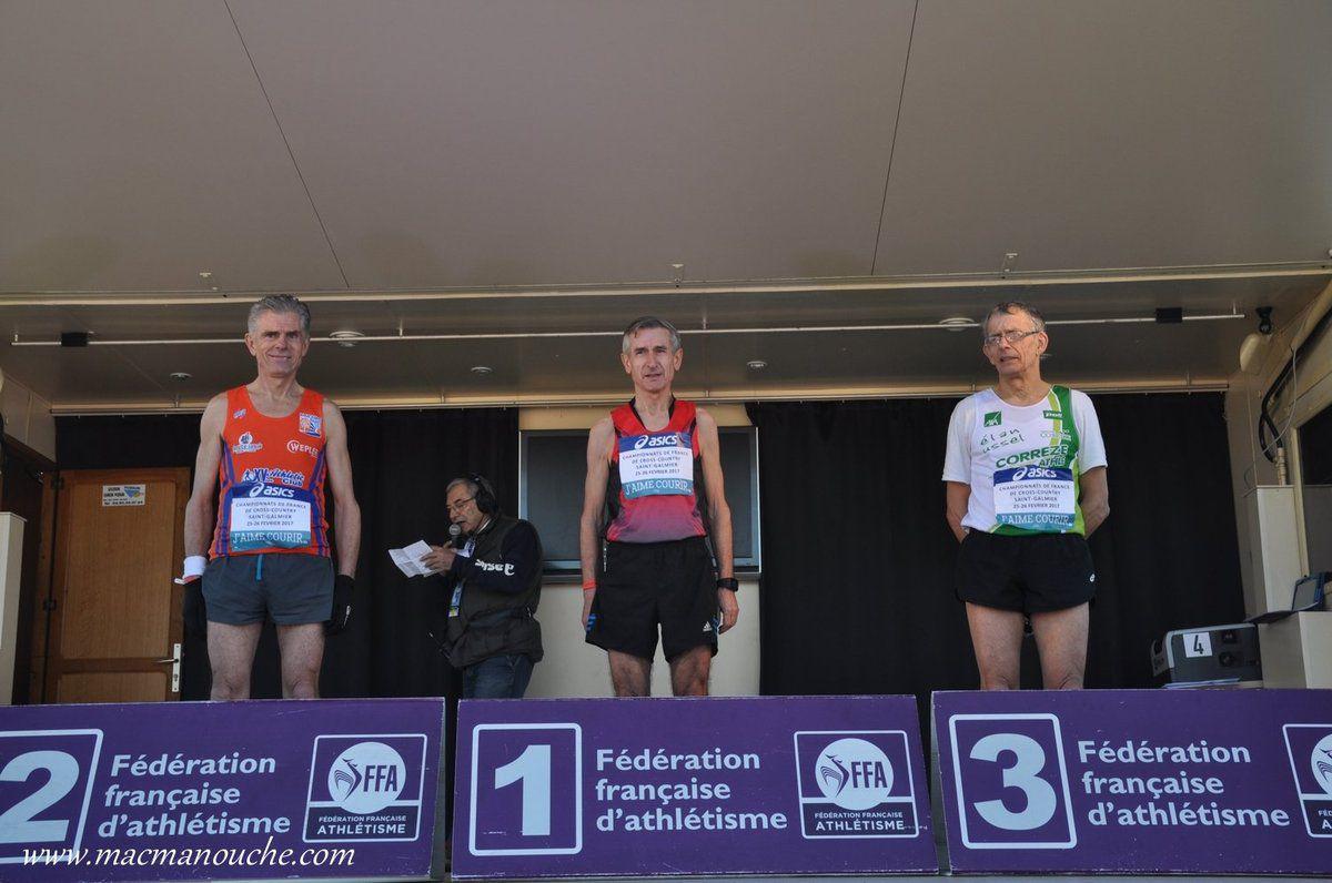 Félicitations Denis! Champion de France de cross-country, catégorie Master 4!