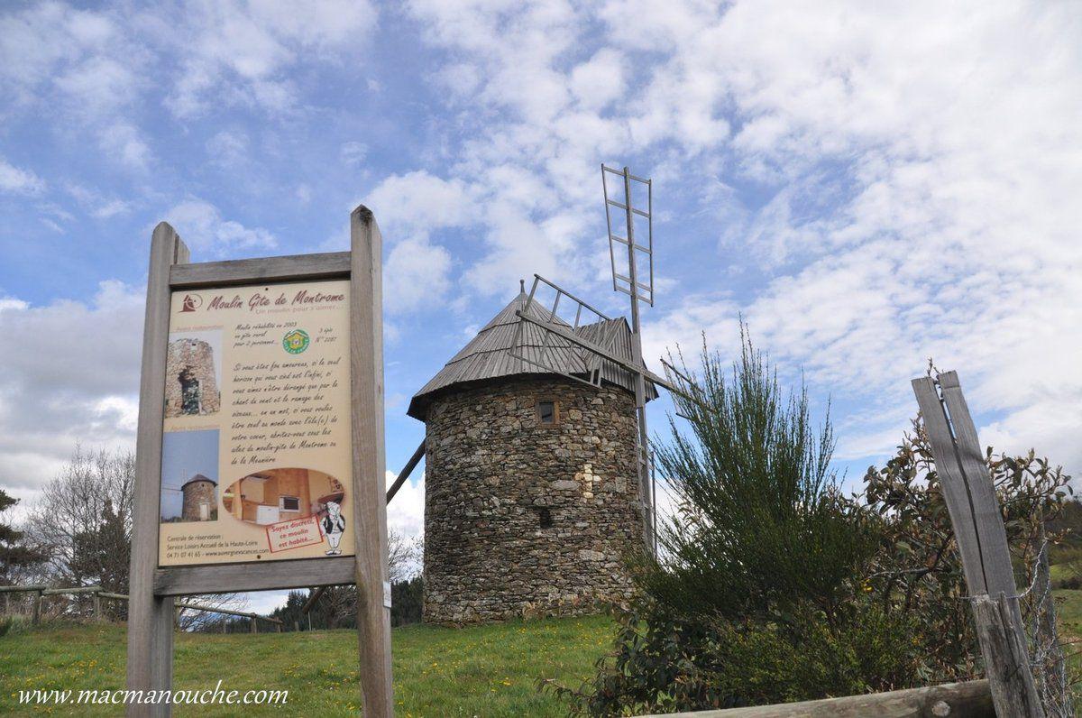 C'est le ''moulin gîte de Montrome.