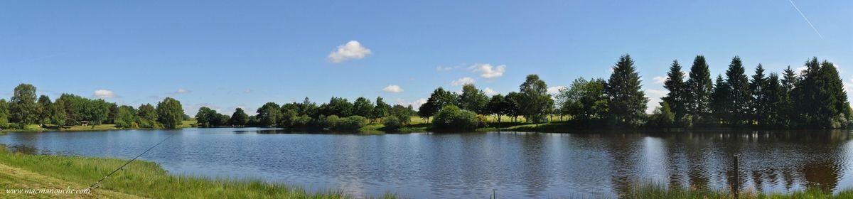 Il fait beau, le ciel est bleu, idéal pour les photos!