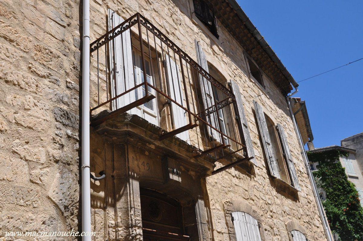 Balcon …  inachevé!