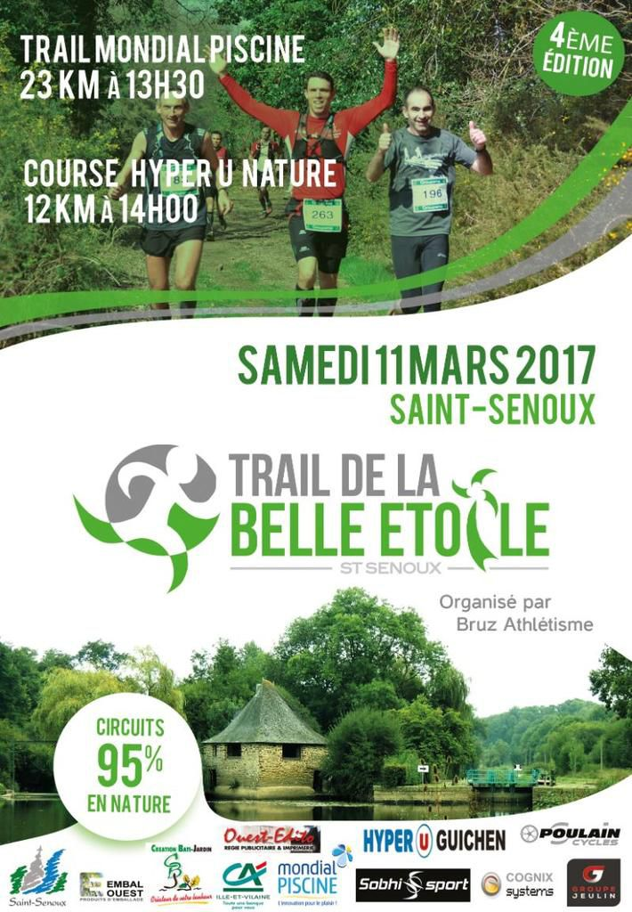 TRAIL DE LA BELLE ETOILE 2017