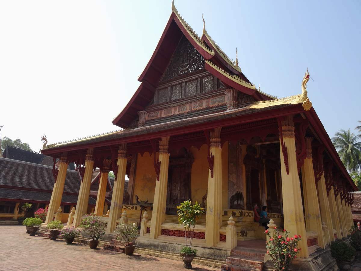 Vientiane la capitale du LAOS