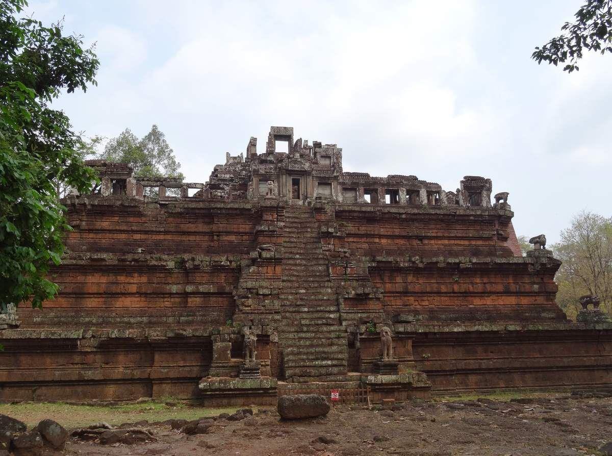 Angkor : les portes, le Bayon, le palais royal