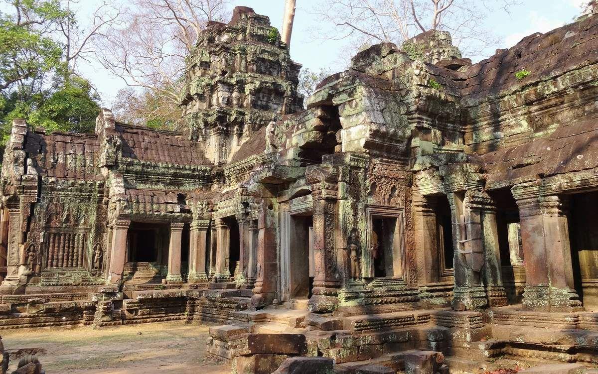 Temples d'Angkor : Ta Prohm et Banteay Srei
