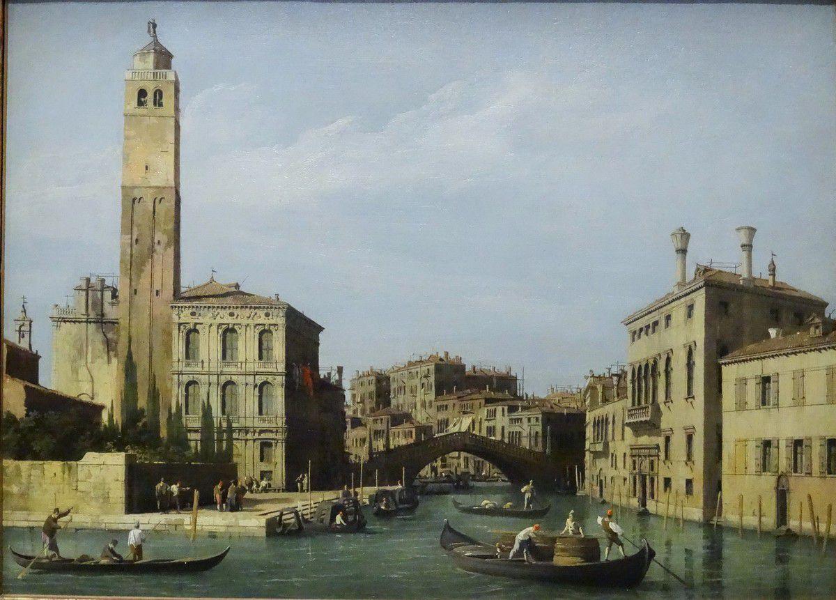 Inauguration de Caumont Centre d'Art : exposition Canaletto