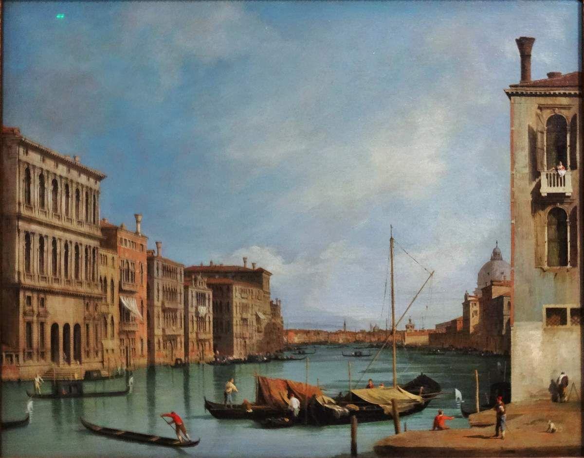 Le dernier tableau est de Francesco Guardi