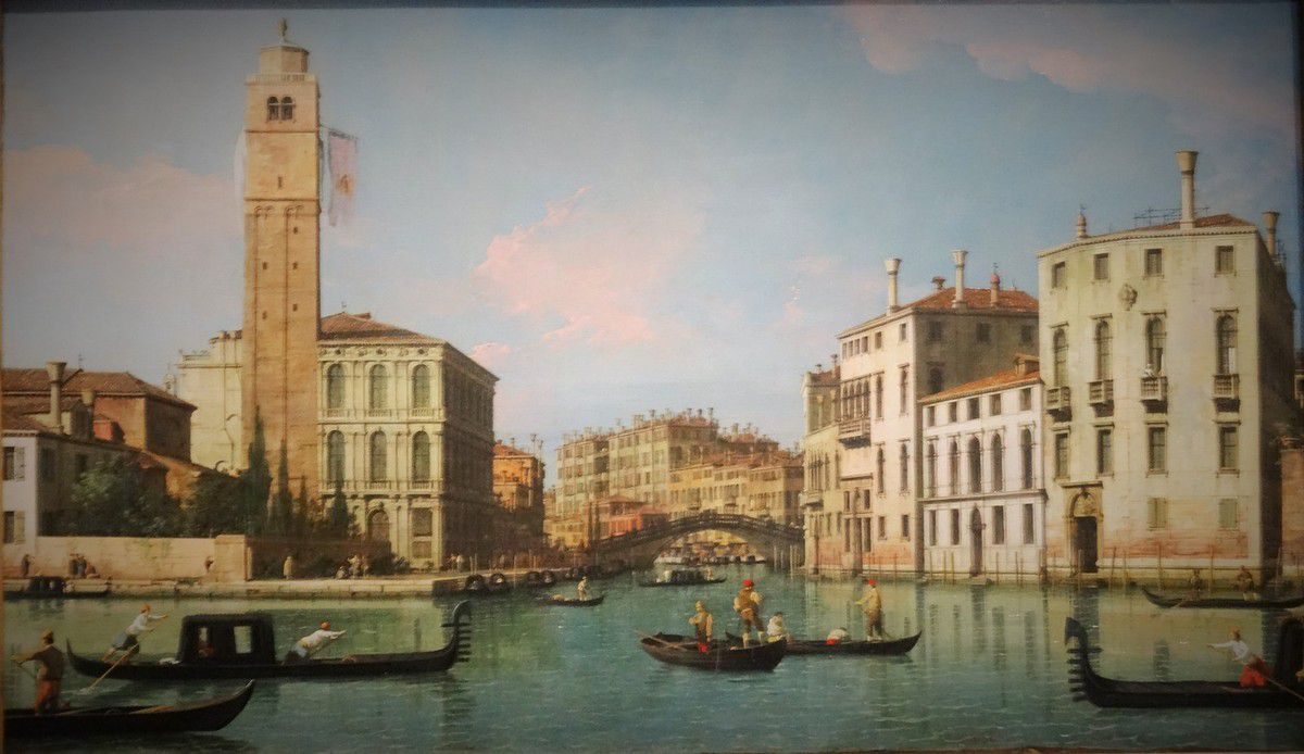 Inauguration de Caumont Centre d'Art : exposition Canaletto