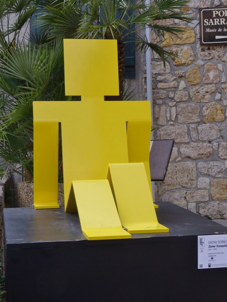 Mougins exposition Monumental