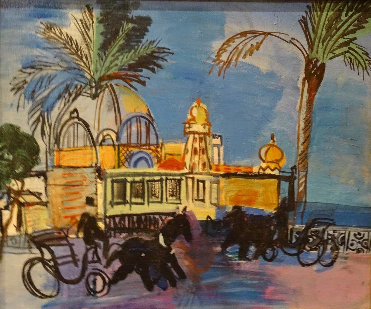 Raoul Dufy au musée des Beaux Arts