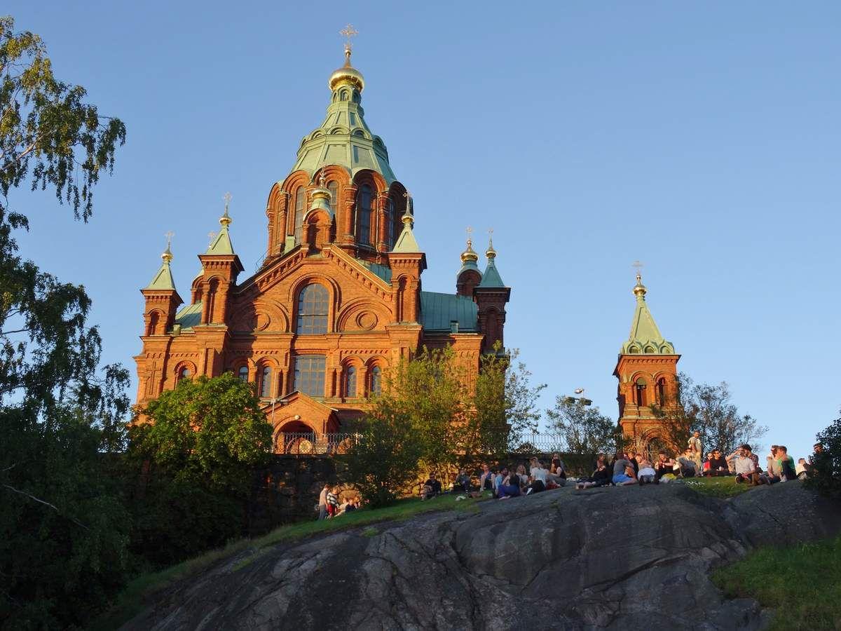 Le tour de la Scandinavie : Helsinki en soirée