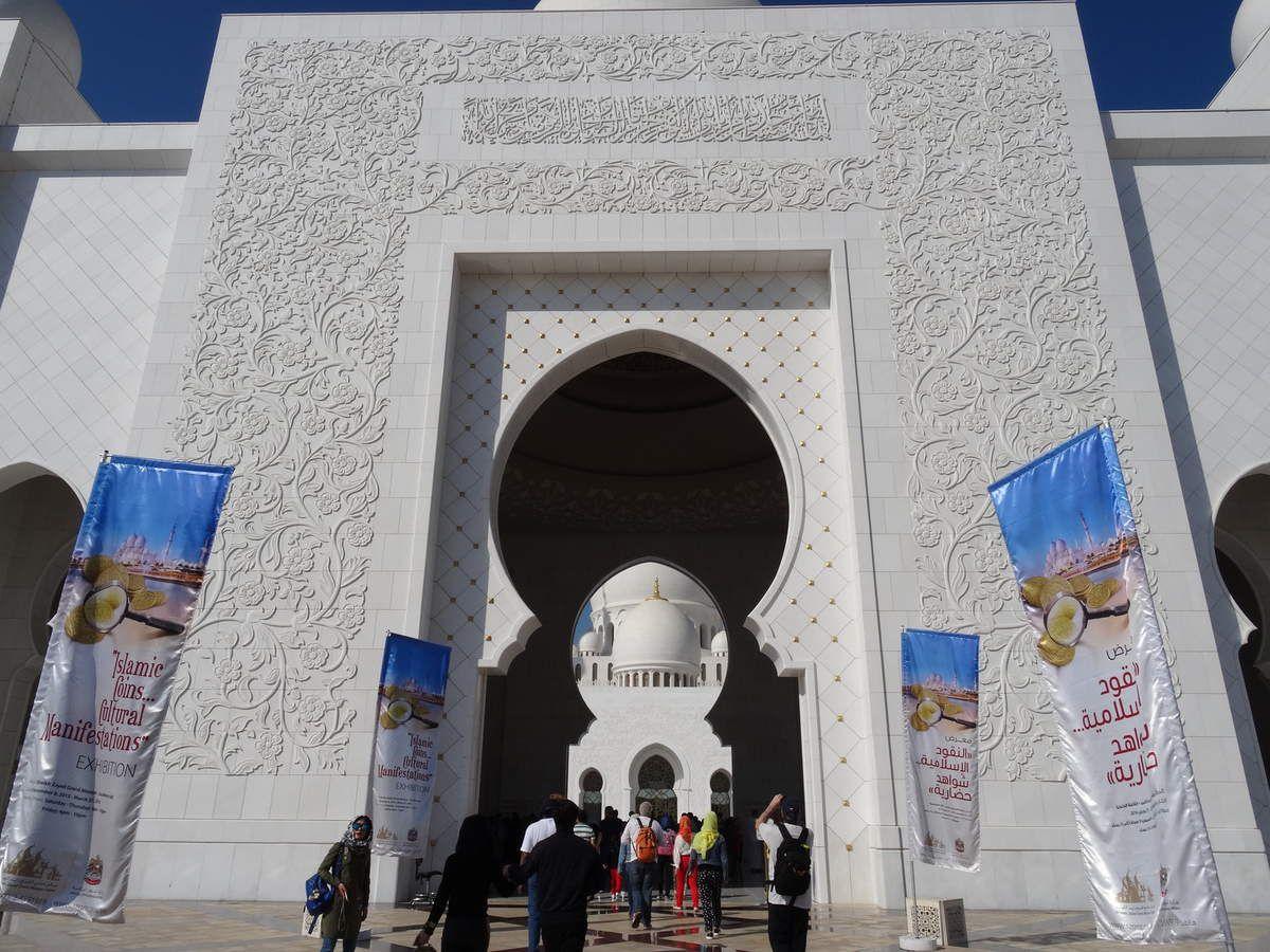 La Grande Mosquée Sheikh Zayed à Abu Dhabi
