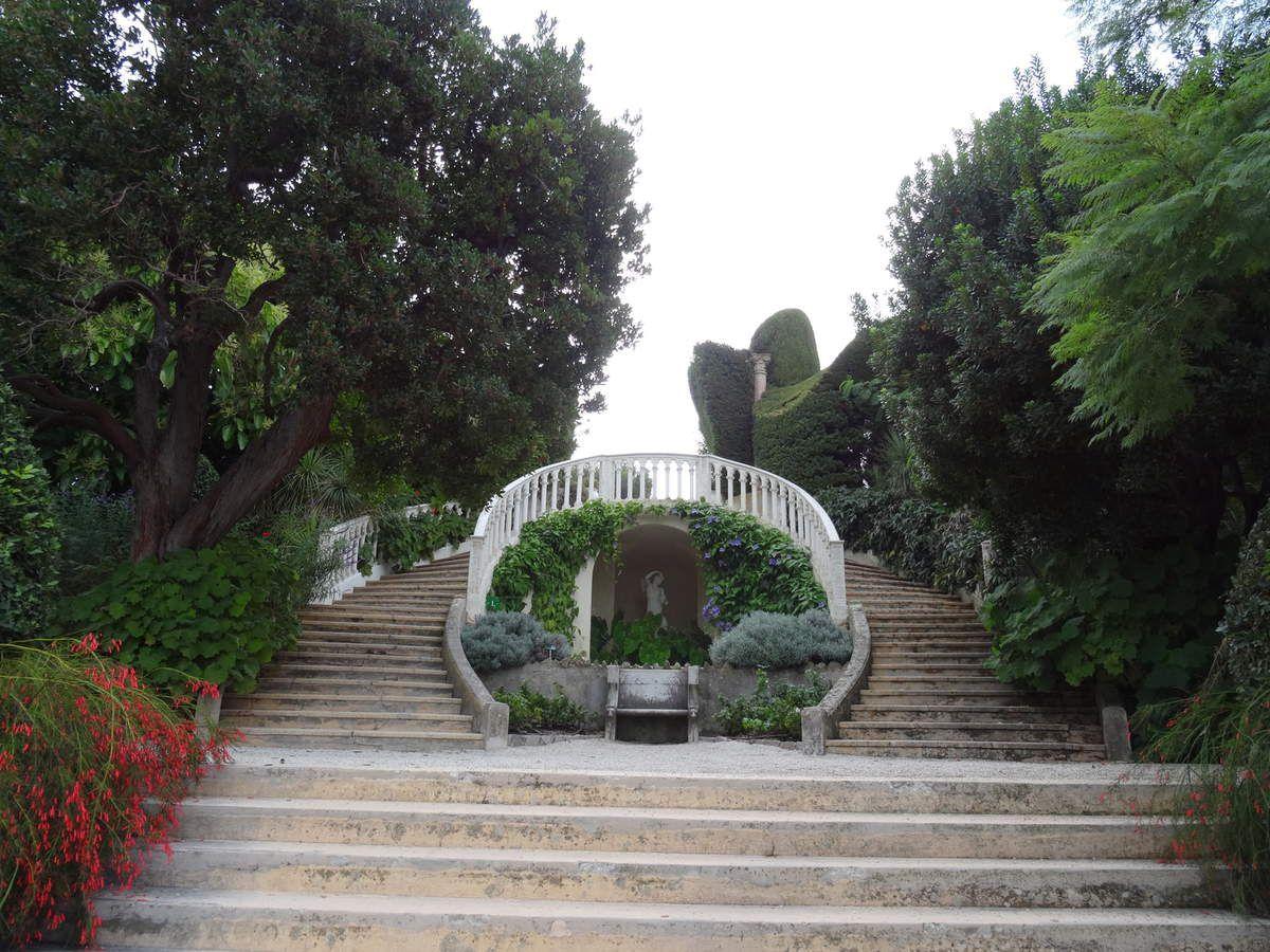 La Villa Ephrussi de Rothschild à Beaulieu sur Mer
