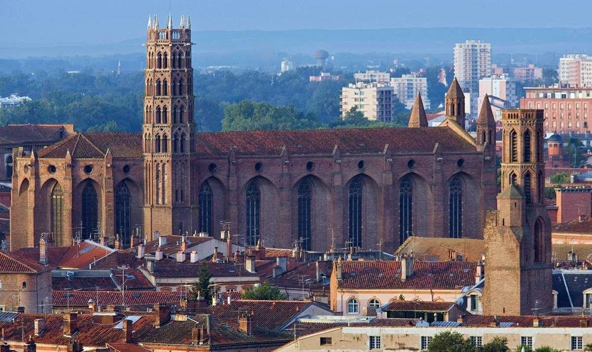 Toulouse : le couvent des Jacobins