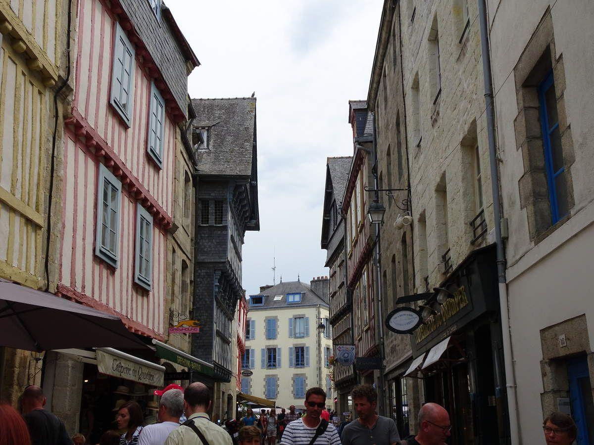 Quimper visite de la vieille ville