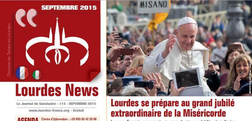 Lourdes News N°14 - Septembre 2015