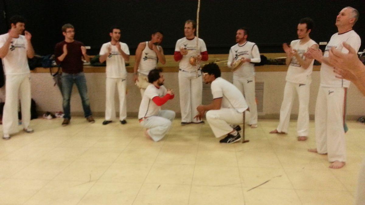 Rodas de Capoeira et Repas partager