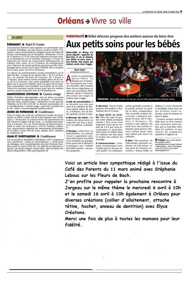 Article République du Centre