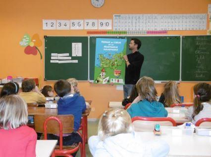 Une intervention de l'IRQUA à l'école de Tribehou - Les Bohons
