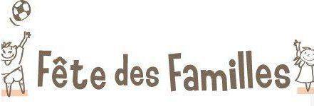 Save the date - Fête des Familles le 19 septembre!