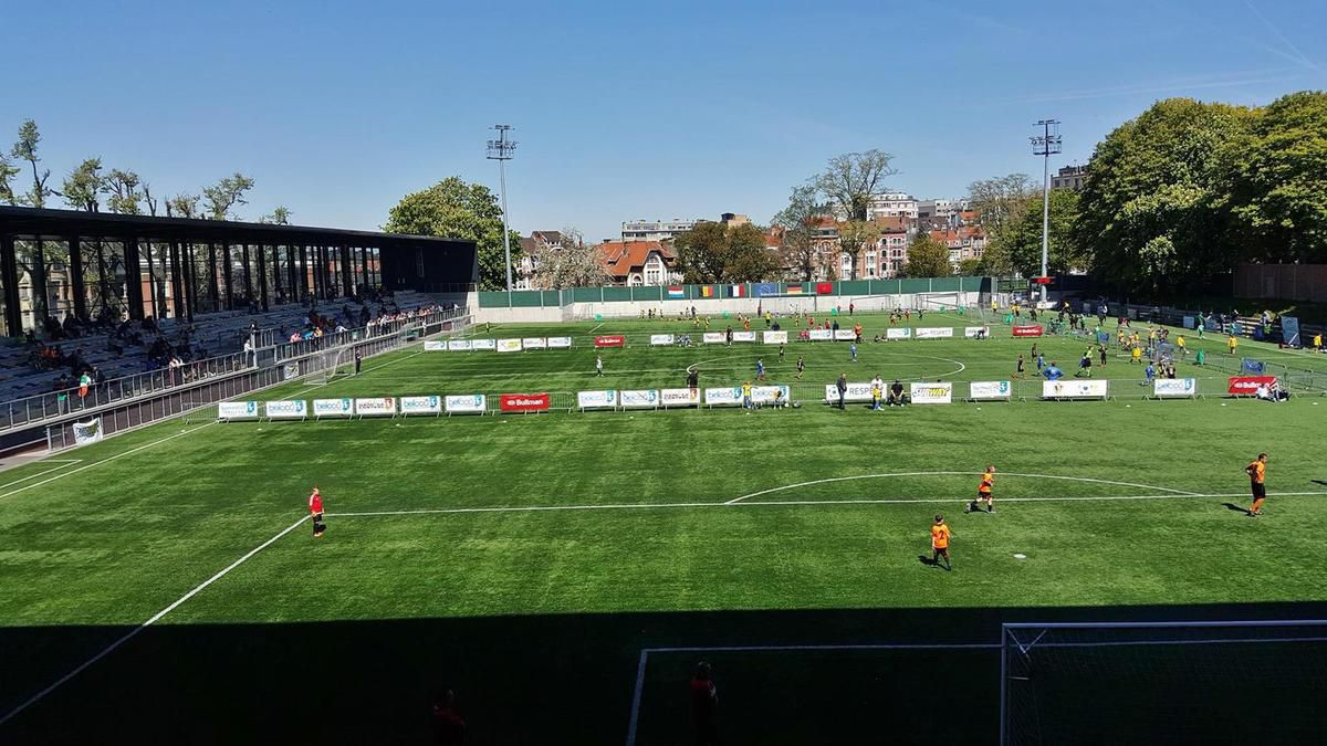 Les terrains du Crossing, coeur de la Brussels European Football Cup