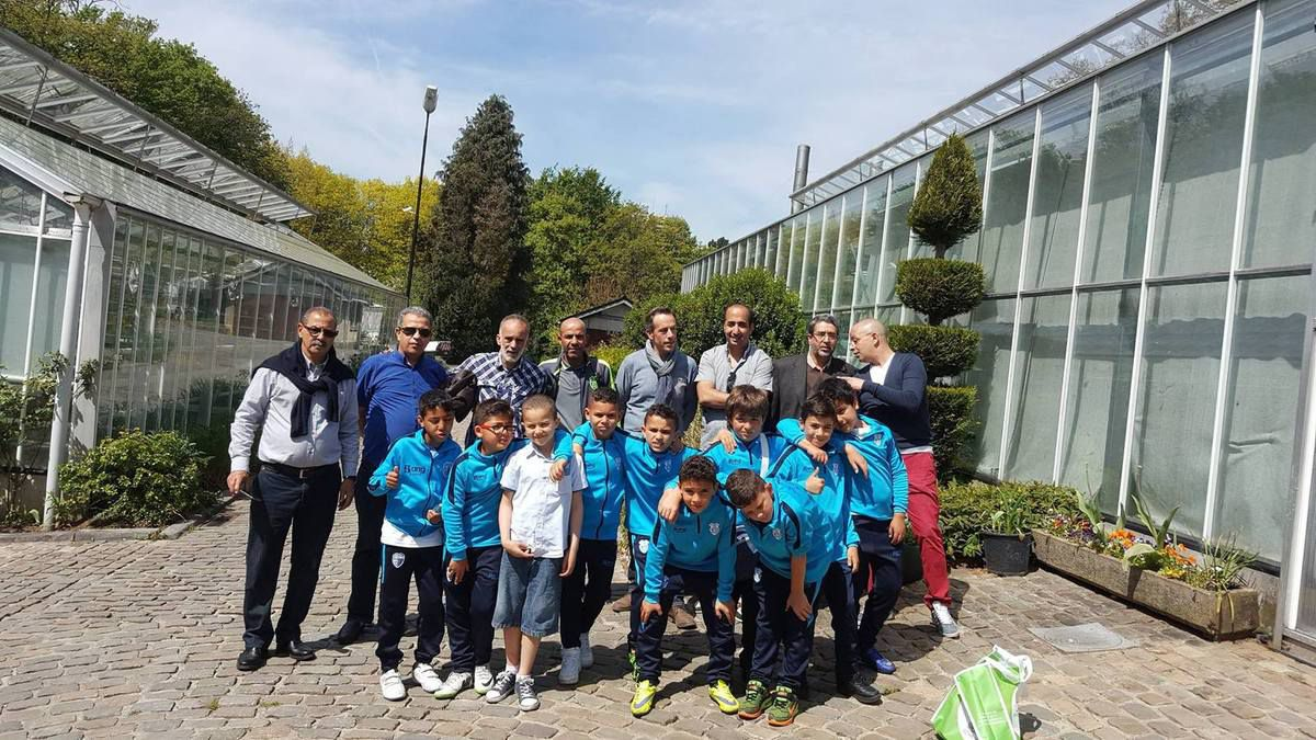 En visite aux serres communales de Schaerbeek